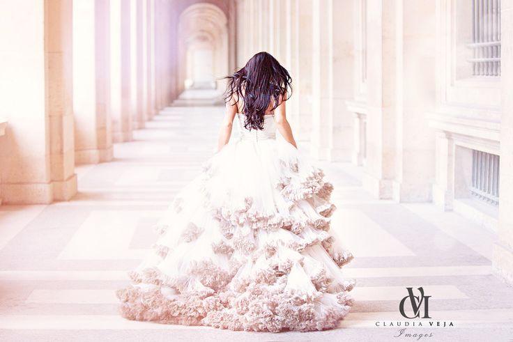 Delicate Dress by Romana Ghita Urmanczy The dream was always running ahead of me. www.claudiaveja.com