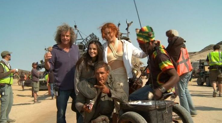 Tommy & Charlotte Riley - Mad Max: Fury Road (2015) behind the scenes / TH0040 (TH0088F)