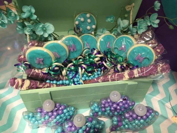 Under The Sea Birthday Party Ideas. Mermaid Baby ShowersGirls ...