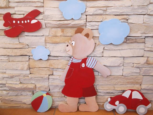 Siluetas de madera para habitaciones infantiles pinterest - Siluetas madera infantiles ...