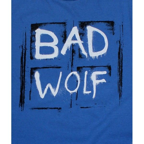 dr who t shirts | shirt Bad Wolf Doctor Who - lageekerie.com
