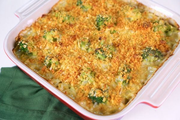Daphne Oz's Broccoli And Orzo Casserole. Don't forget to add the last 1/2 cup of Parmesan cheese to the Panko mixture.