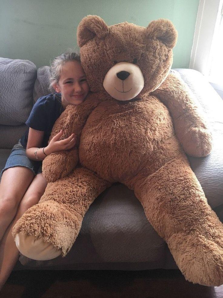 Vermont Teddy Bear Big Hunka Love Giant Plush Bear 4 Feet Tall Brown #VermontTeddyBearCo #AllOccasion