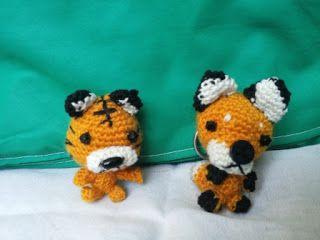 tigre volpe uncinetto - tiger fox amigurumi crochet