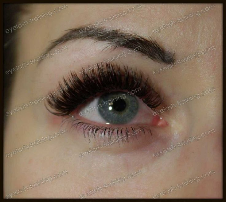 Semi permanent eyelashes   - N&M Beauty - Semi permanent lash extensions - Training and Certification by Nadia Afanaseva.