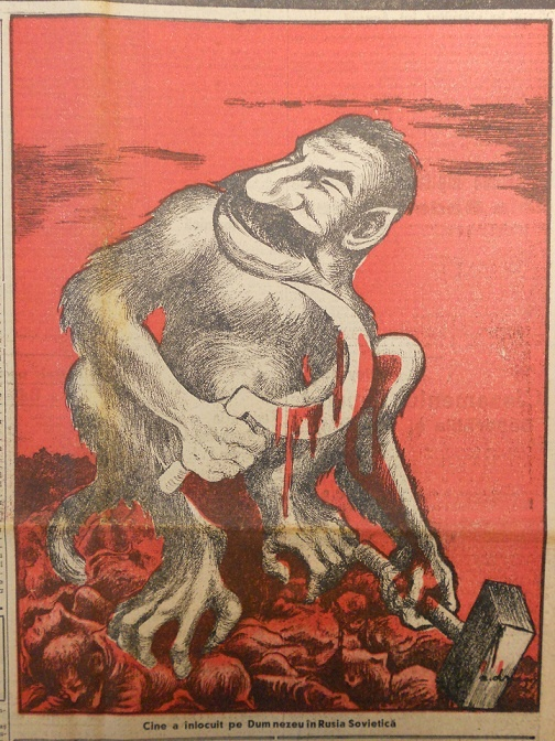 political art on the history of romania blog