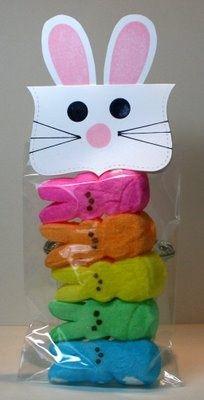 Easter Peeps gift idea.  #PeepsFan