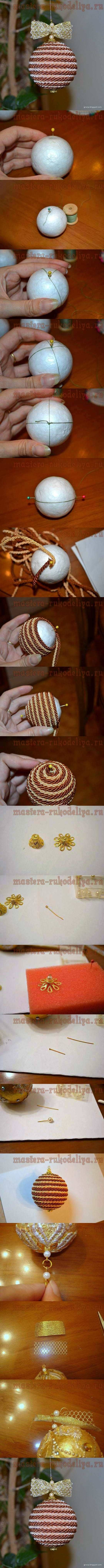 DIY Ball of String DIY Projects | UsefulDIY.com Follow Us on Facebook ==> http://www.facebook.com/UsefulDiy