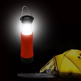 Linterna luz led camping