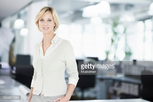 Stock-Foto : Woman in her office