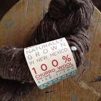 New Mexico's churro wool is typically thick and chunky, in earthy colors like browns and tans. This skein is from Espanola Valley Fiber Arts Center, organizer of the New Mexico Fiber Crawl in May.Special Contributor