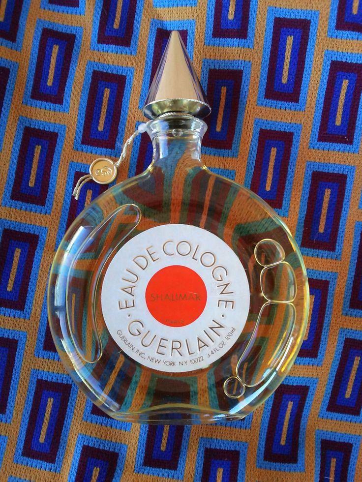 Vintage 1970s Perfume Guerlain Shalimar Eau de Cologne 3.4 fl oz 100 ml 2015503 by bycinbyhand on Etsy