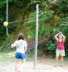 Tetherball is one of those amazing outdoor games kids love to play ...