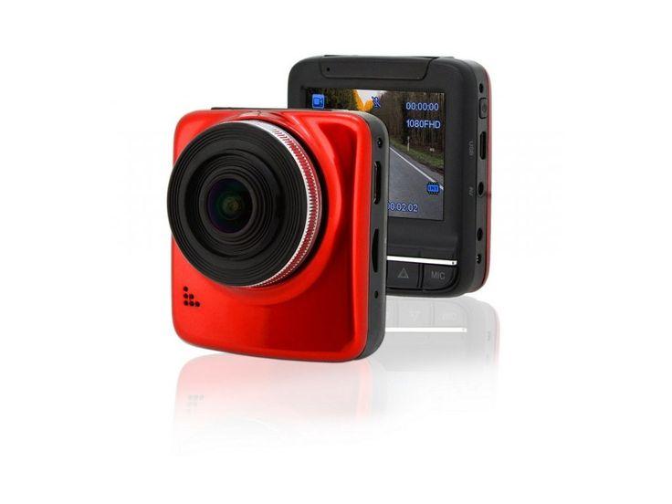 Kamera do auta se záznamem na microSDHC kartu ve vysokém rozlišení Full HD (1080p), vysoká kvalita záznamu a ostré zobrazení, na kterém vyniknou všechny detaily jako např. SPZ vozidla.