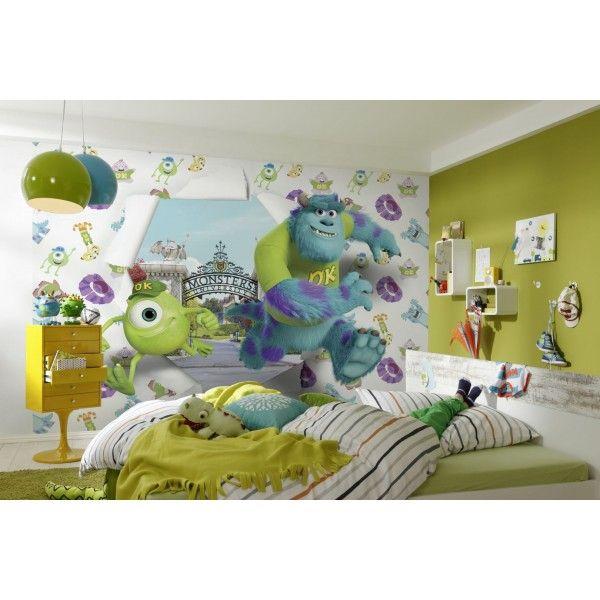 Panoramique Monstres et Cie Université - poster Komar : Panoramique chambre d'enfant