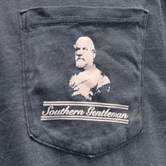 Robert E. Lee Southern Gentleman Pocket Tee Shirt