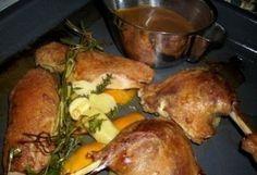 Ropogós kacsa ízletes pecsenyeszósszal   NOSALTY – receptek képekkel