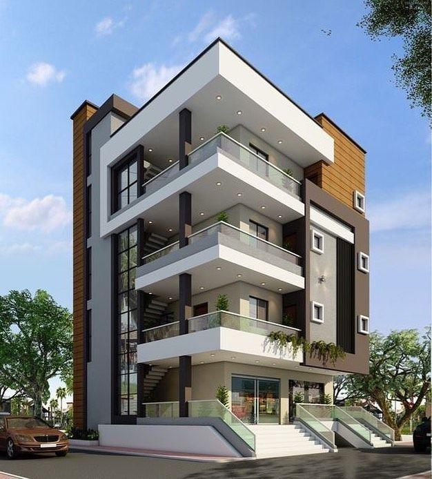 House Exterior Designs Facade Architecture Design Small Apartment Building Apartment Architecture