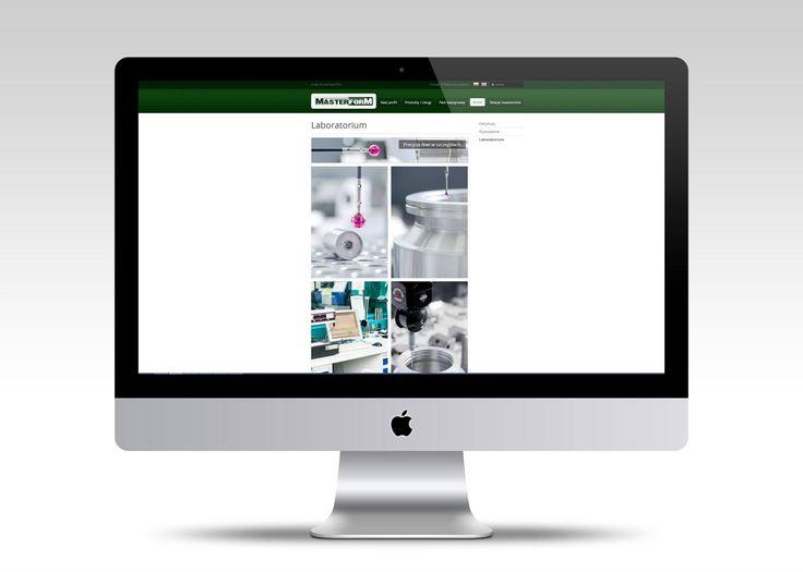 Strona internetowa Masterform. #webdesign #website #userinterface #layout #www #stronywww #stronyinternetowe