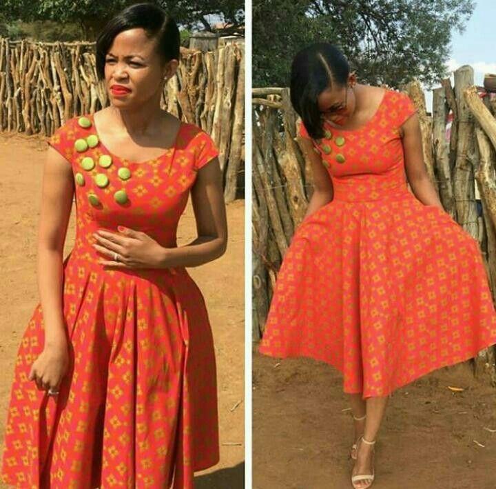 Like The Style African Fashion 8 Shweshwe Dresses
