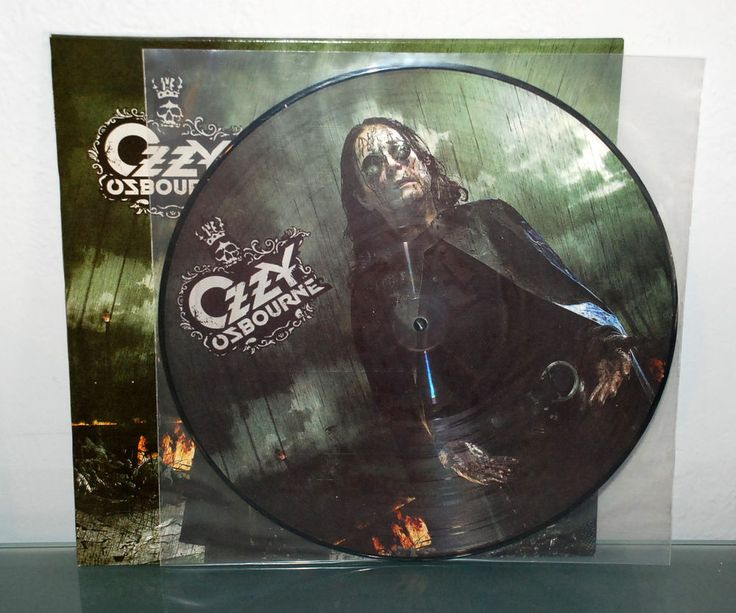OZZY OSBOURNE - BLACK RAIN LIMITED EDITION PIC LP PICTURE DISC