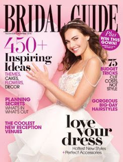 FREE One Year Subscription to Bridal Guide Magazine! No Strings Attached! http://www.thecafecoupon.com/2017/01/free-one-year-subscription-to-bridal.html