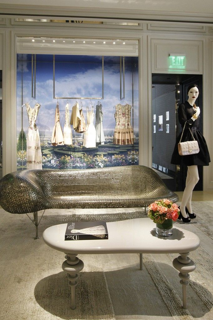Christian Dior Store on Rodeo Drive, Beverly Hills, California designed by Peter Marino Architect #interiordesign #luxury