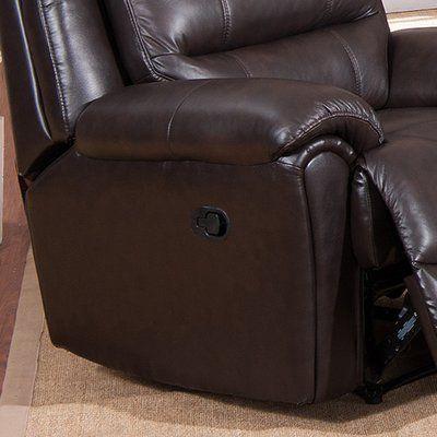 Red Barrel Studio Lorretta 2 Piece Leather Match Living Room Set