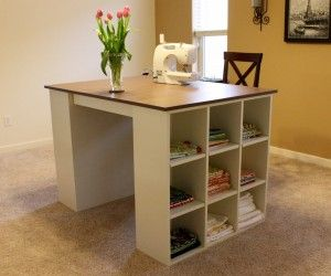 12 Inspiring Craft Table Designs Digital Photograph Idea