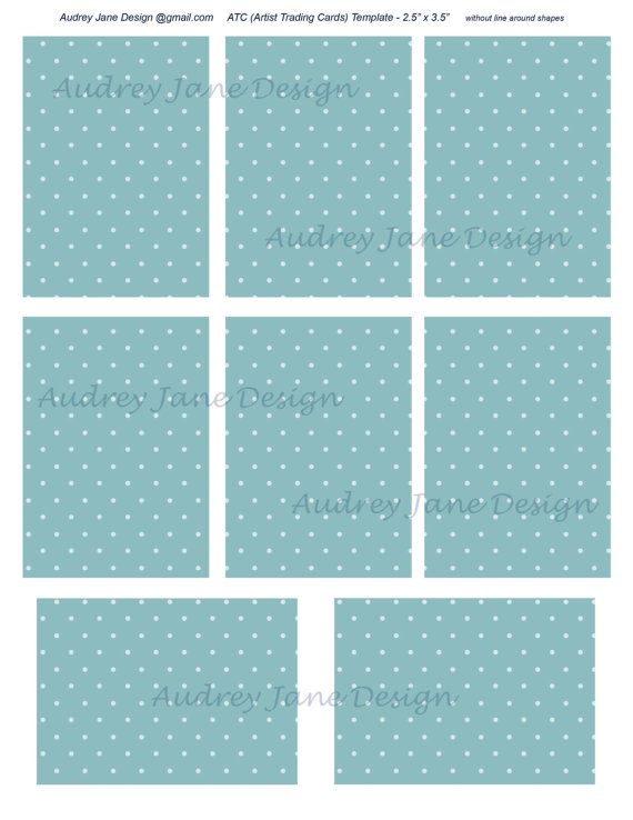 atc png photoshop template 8 cards 2 5 x 3 5 on letter size commercial use ok digital. Black Bedroom Furniture Sets. Home Design Ideas
