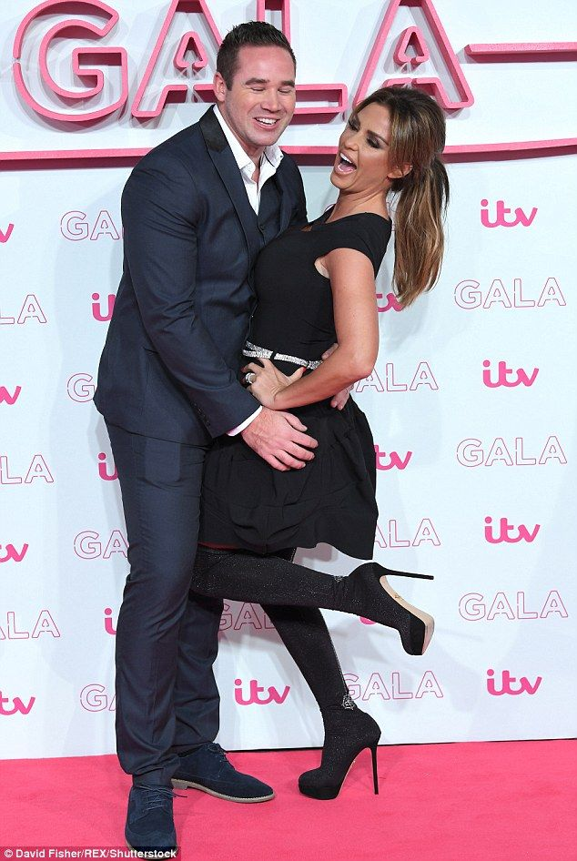 Rebelling? Katie's cheeky comments come amid claims she is 'rebelling' against husband Kieran Hayler, as she did during splits from husbands Peter Andre and Alex Reid