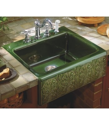 Kohler savanyo sink houses pinterest just love jack o 39 connell and farmers sink - Kitchen sink in french ...