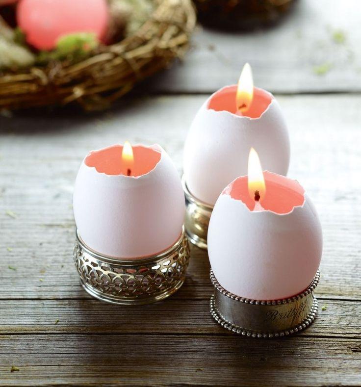 Marvelous Windlichter Basteln   Tischdeko Zu Ostern Mit Sommer Flair