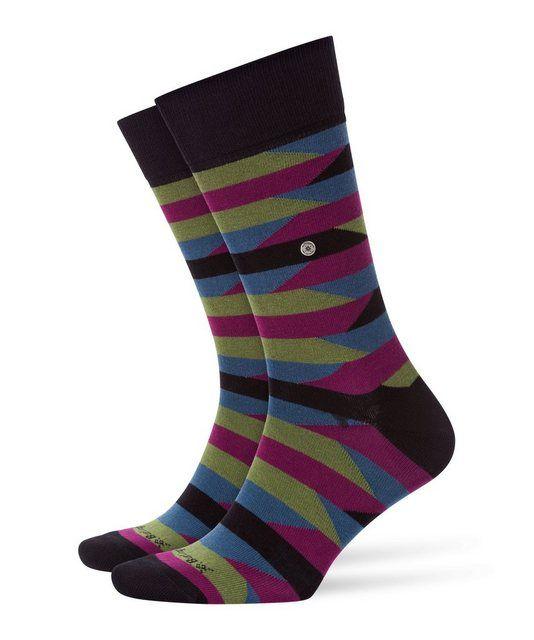 Socken »Fragments« (1 Paar) mit grafischem Design