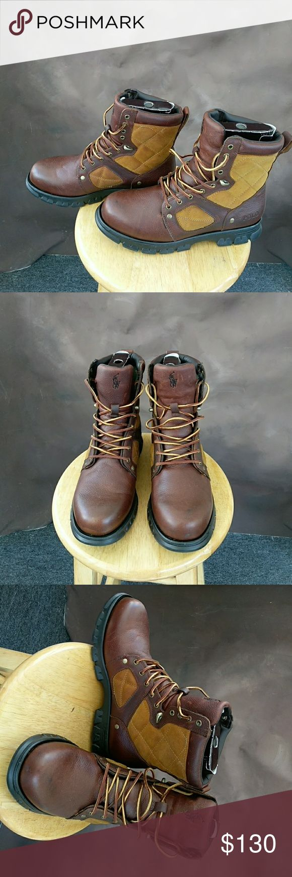 Polo Ralph Lauren boots Only worn twice in great condition still with the box Ralph Lauren Shoes Boots