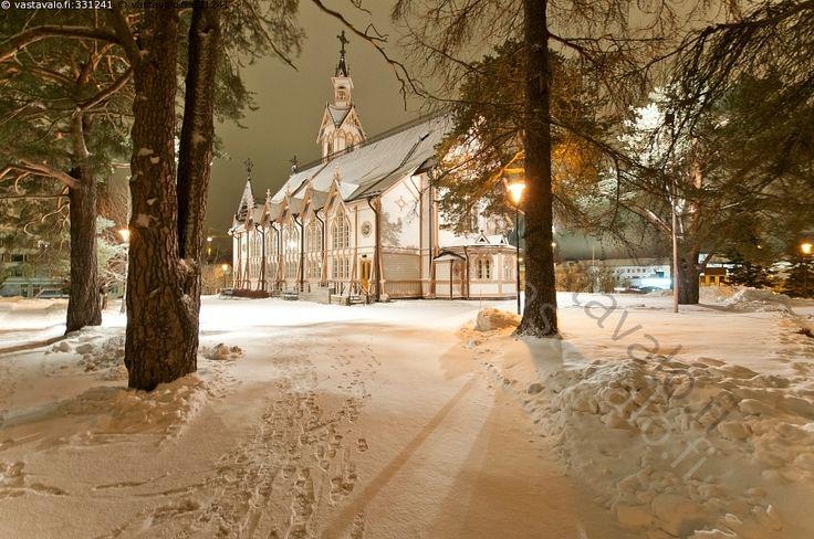 Iltavalot, Kajaanin evankelisluterilainen kirkko - Kajaani Kainuu evankelisluterilainen