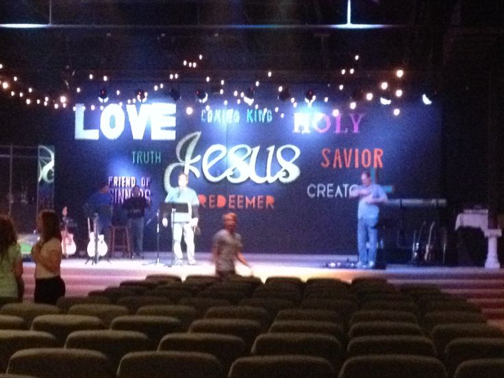 163 best stage design ideas images on Pinterest | Church stage ...