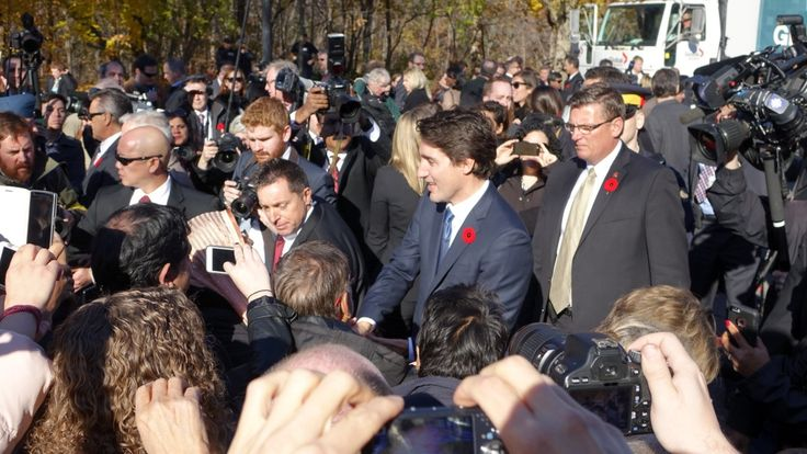 """Justin Trudeau has been sworn in as Canada's 23rd prime minister and introduced a cabinet he says """"looks like Canada."""" Read more about Trudeau's choices for his cabinet - and the ceremony that introduced his new government to the country."""