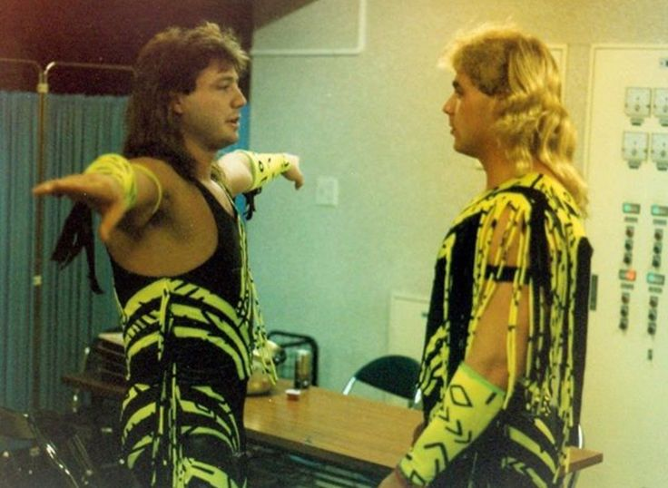 Marty Jannetty and Shawn Michaels.