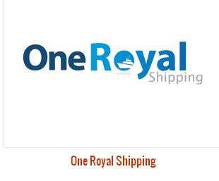 Logo Design For One Royal Shipping