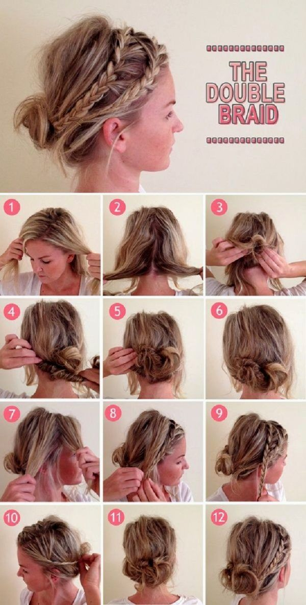 30+ Cute and Easy Braided Hairstyle Tutorials