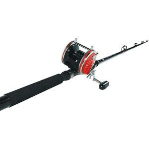 "Penn Senator 6'6"" Conventional Boat Fishing Rod, 1-Piece Combo"