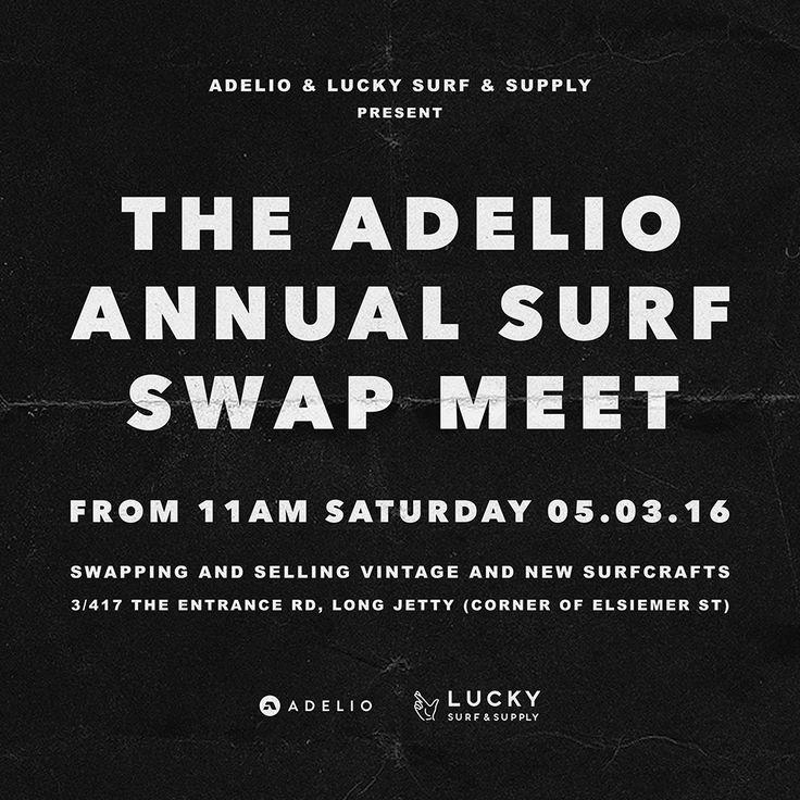 Adelio #surfswap #adeliowetsuits #luckysurfandsupply