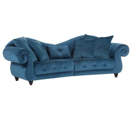 Megasofa In Petrol Textil Grosse Sofas Big Sofa Mit Schlaffunktion Sofa