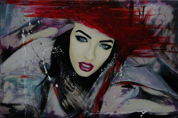 "Saatchi Art Artist David Scholes; Painting, ""La Tempestad Fire"" #art"