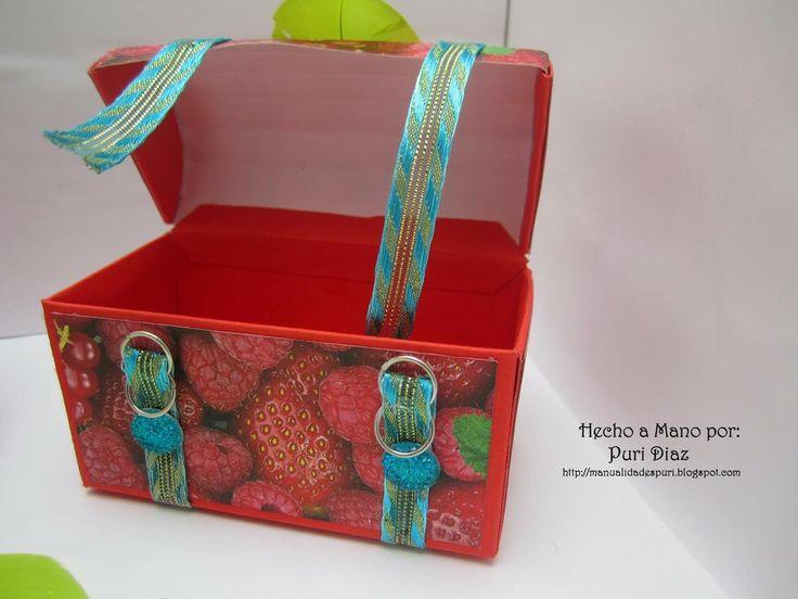 Mini baúles para regalitos   Aprender manualidades es facilisimo.com