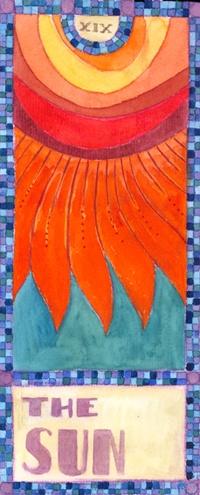 The Sun - Tarot Card