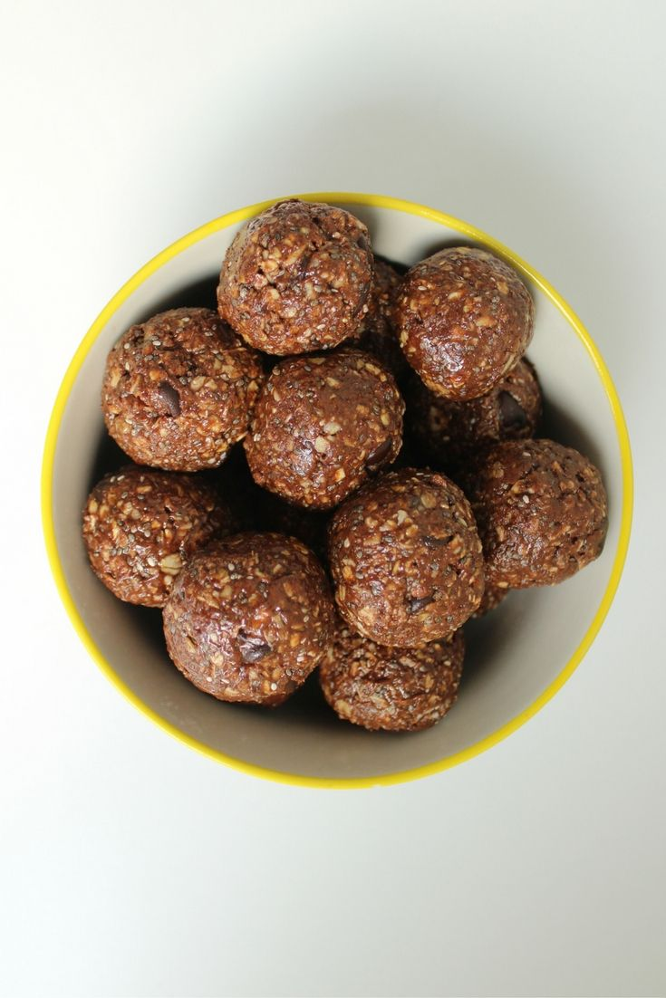 Chocolate Almond Butter Protein Bites