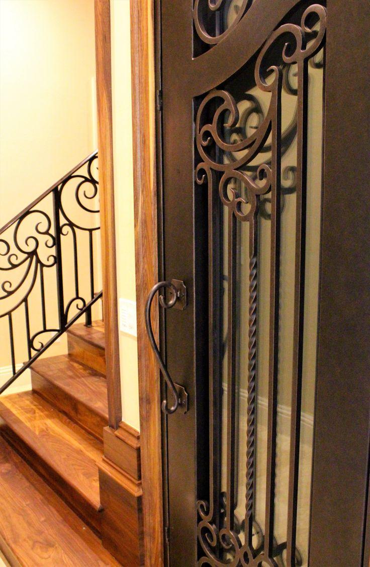 Beautiful Wine Door! Iron DoorsInterior DoorsWrought ...