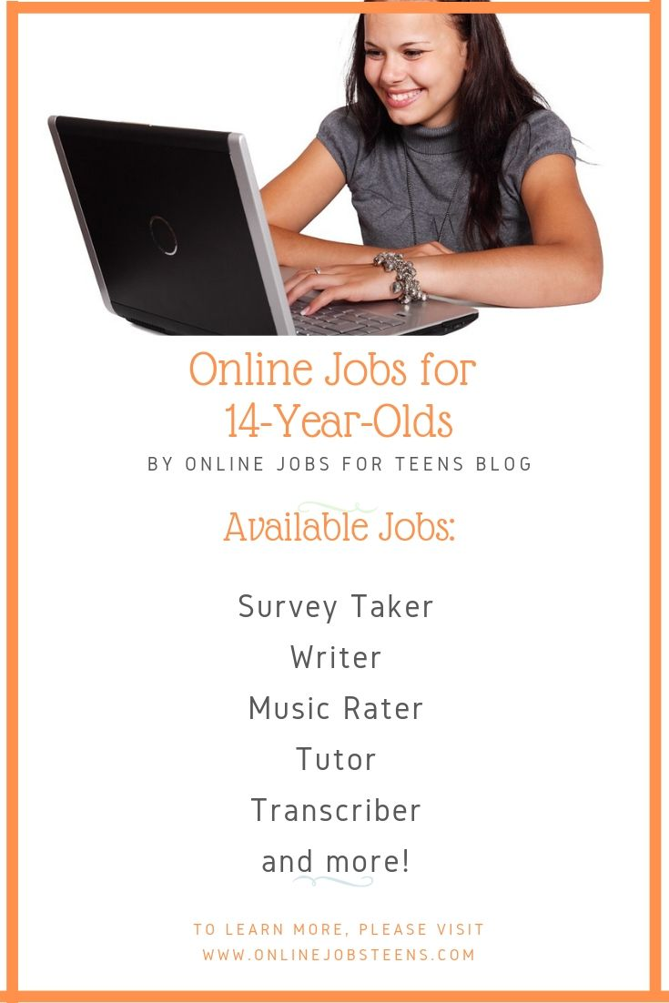 Online Jobs For 14 Year Olds Jobs For Teens Online Jobs For Teens Online Jobs
